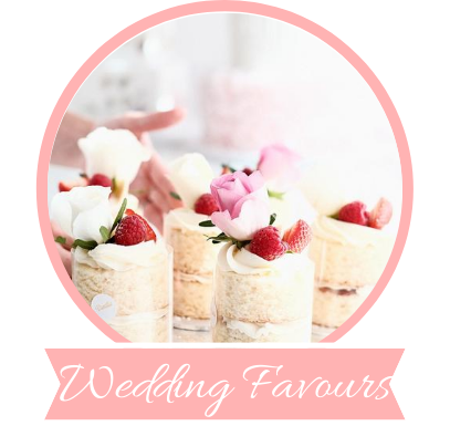 Click here to view our wedding favours
