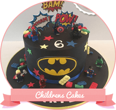 Click Here To View Our Childrens Cakes