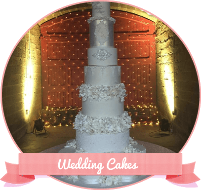 Click here to view our Wedding Cakes